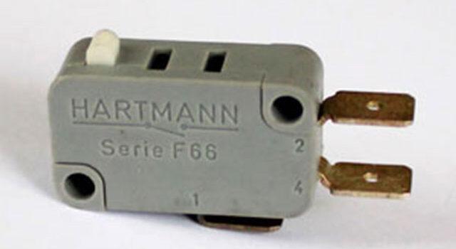 Microswitch-Hartmann-Serie-F66