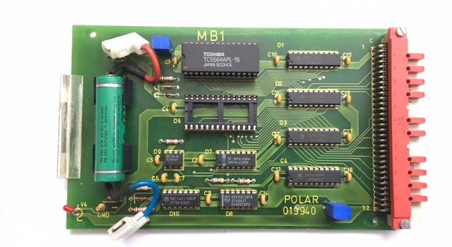 Plug in Card MB1 #019940 Polar EM, EMC